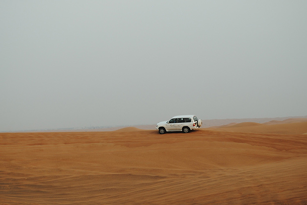 Things to Do Dubai: Sand Dunes Bashing at the Desert Safari Camp