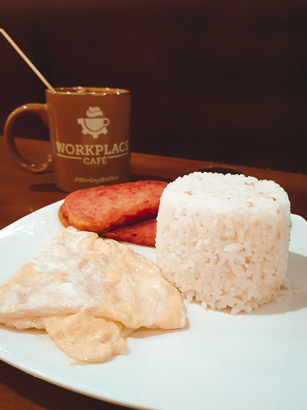 Co-Working Spaces in Cebu City: All-Day Breakfast at Workplace Cafe