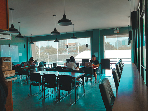 Co-Working Spaces in Cebu City: Interior of the Headquarters Cebu