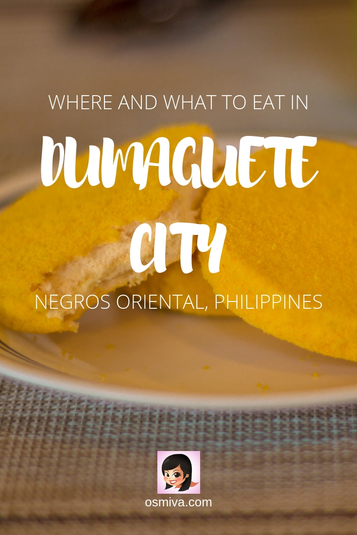 A Foodie Guide to the Must-Try Restaurants in Dumaguete, Philippines. List of restaurants, what to order, prices and ambiance. We have also included guides on how to get there and our over-all verdict. #dumaguetephilippines #restaurantsdumaguete #foodtravel #osmiva