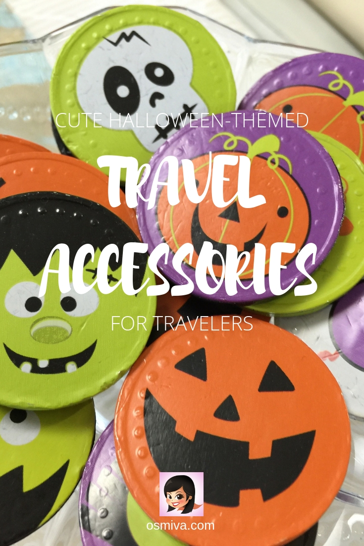 cute halloween-themed travel toys and accessories for travelers | osmiva