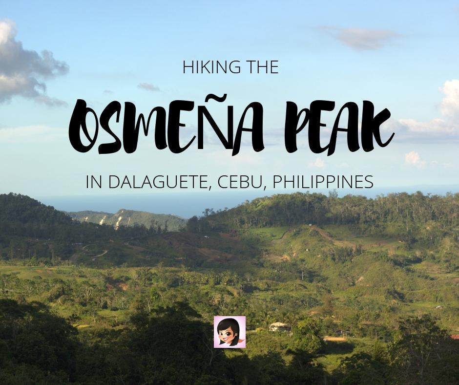 Hiking the Osmeña Peak in Dalaguete, Cebu