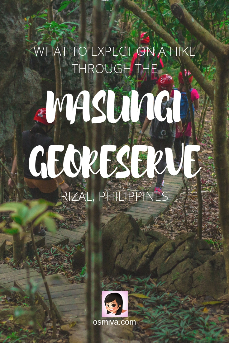Hiking the Masungi Georeseve: Trail Highlights and Tips. Complete guide on hiking the Masungi Georeserve including how to get there, what to expect, fee, reminders, tips and trail highlights. Enjoy a day with friends and family at this fantastic trail!  #travelph #philippines #rizalphilippines #masungiGeoreserve #osmiva @osmiva