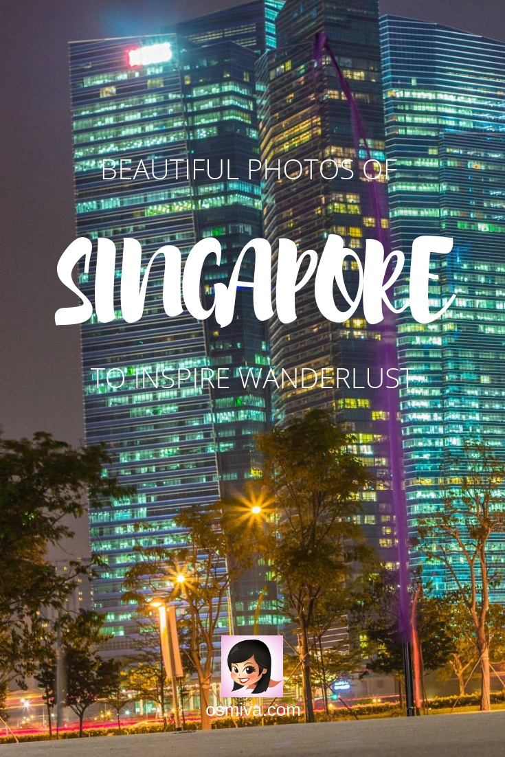 Singapore Photography: Travel Photography: Singapore in Photos and Why We Love It. Collection of beautiful photos of Singapore City! #travelphotography #singaporephotography #singaporeinphotos #asia #travel #osmiva