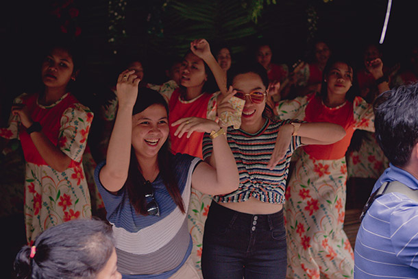Dancing with the Loboc Children's Choir