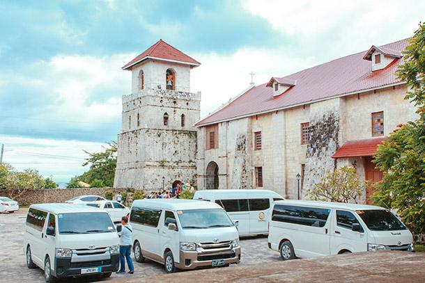 Bohol Tourist Vans
