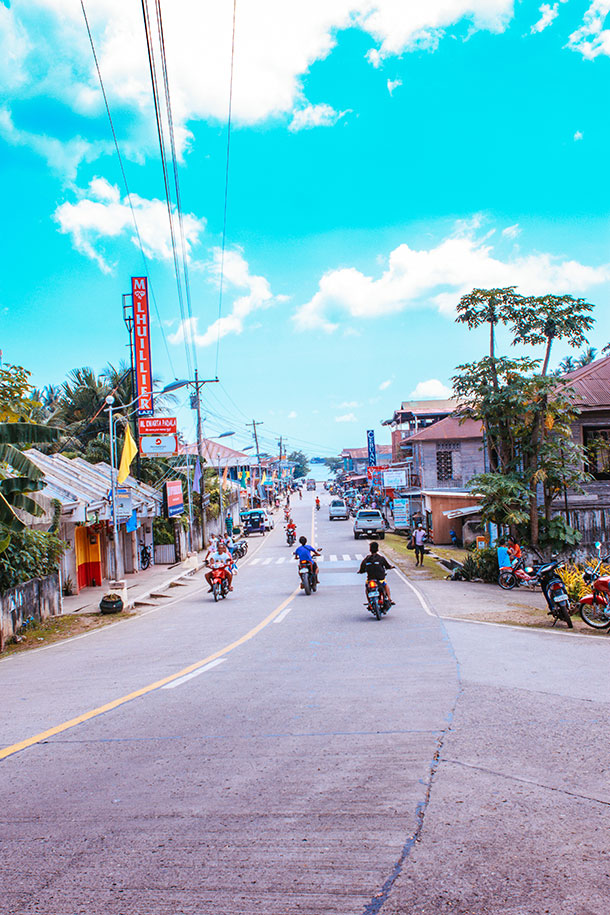 Street at Lazi, Siquijor