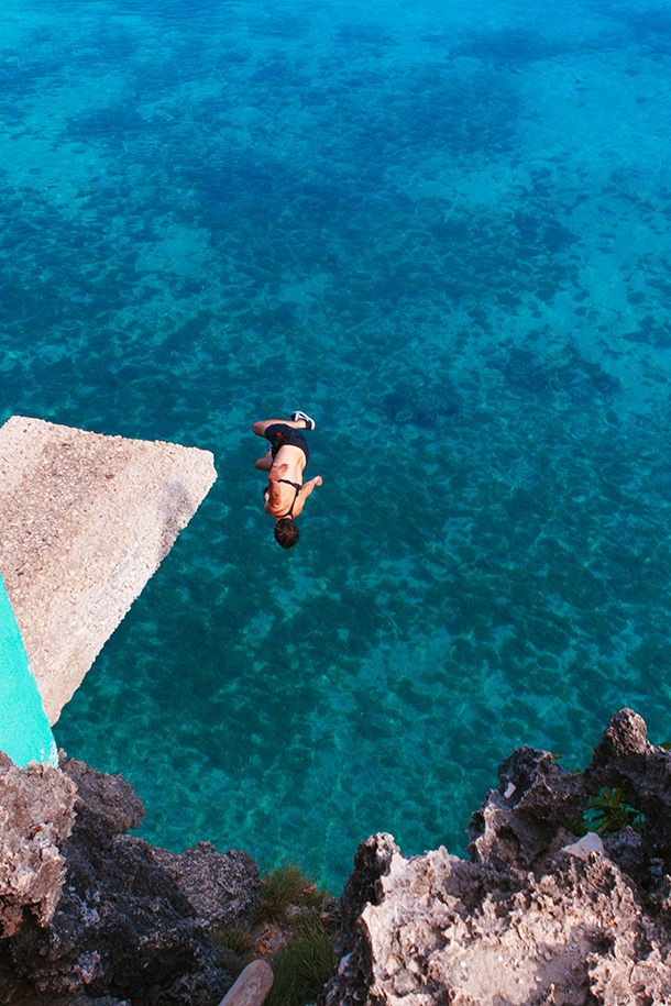 Beautiful Siquijor! Cliff Jumping at Salagdoong Beach