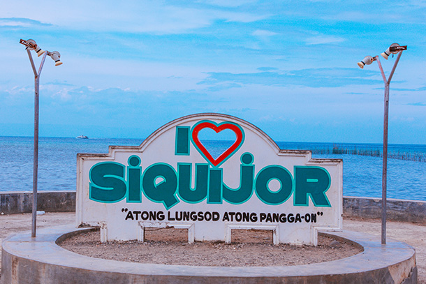 I Love Siquijor Sign