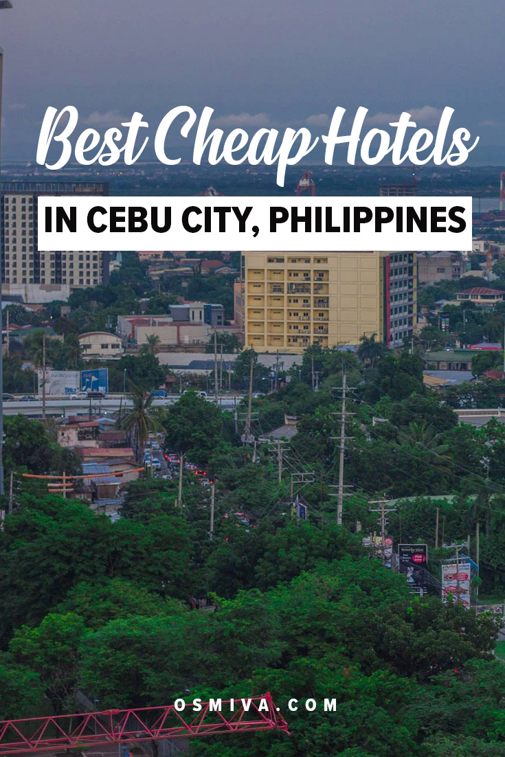 Cheap Hotels in Cebu City Philippines. List of affordable places near some of the main areas in Cebu City namely: SM City Cebu, Ayala Center and Fuente Circle. These three areas are considered to be centrally located with many transportation systems available within the area. #cheaphotels #cebucheaphotels #philippines #cebuphilippines #affordablehotels