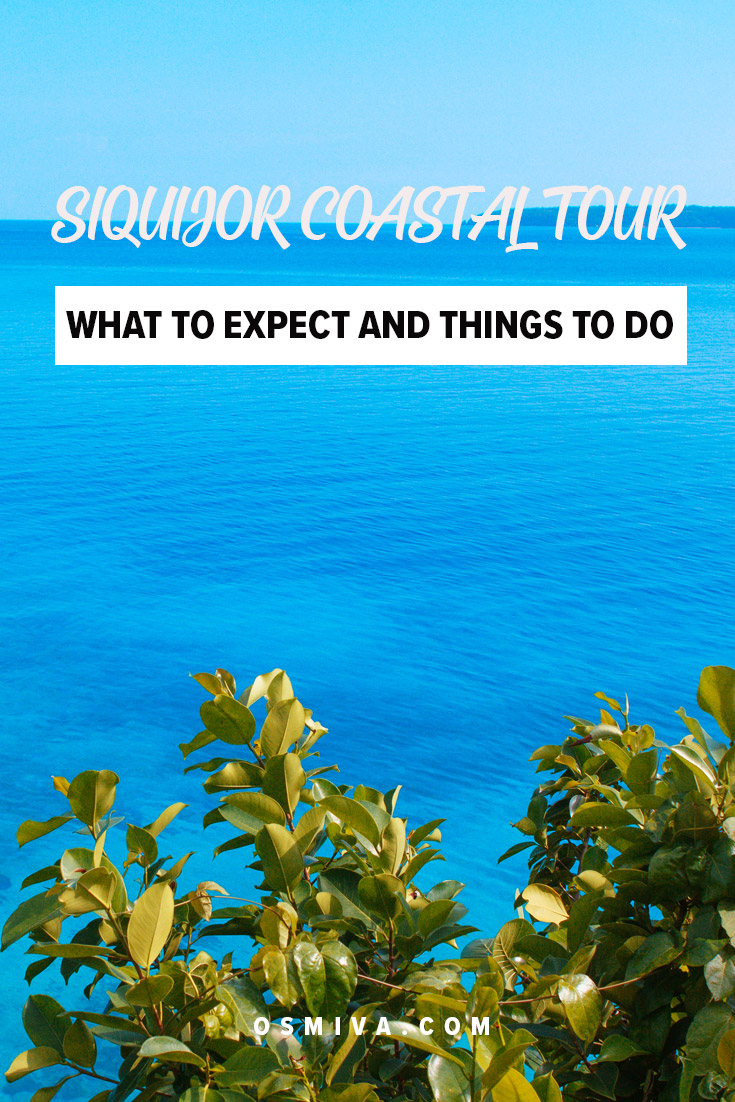 Siquijor Tourist Spots to Visit on a Coastal Tour. List of Siquijor Tourist Spots you'll be visiting when you join the Siquijor Coastal Tour. The tour is a day trip you can enjoy by yourself, or with friends, family, or your partner. Check out the places you'll be visiting as well as what to expect, fees and reminders to make your tour an enjoyable one! #siquijor #philippines #coastaltour #siquijortouristspots #siquijorcoastaltour #visitphilippines #choosephilippines #travelph #asia #osmiva