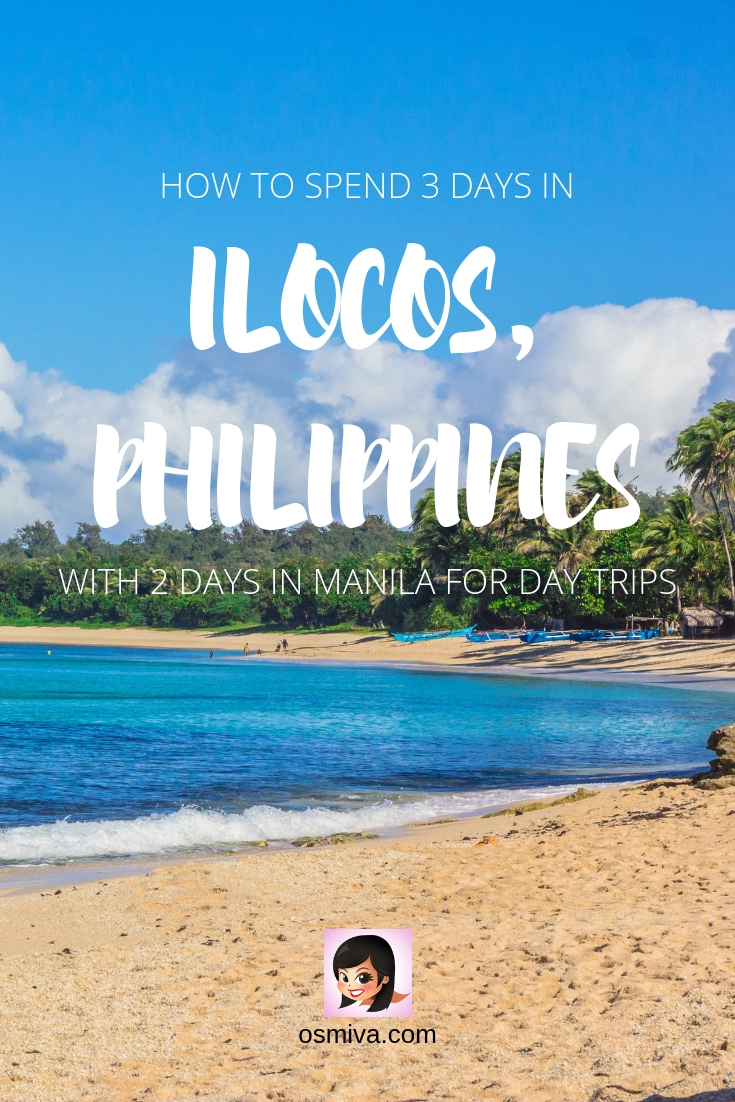 A 5-Day Itinerary On How To Maximise Your Ilocos Tour with Manila Day Trips. This includes Manila's Intramuros Walking Tour and Binondo Food Crawl. Take a day trip from Manila to the Masungi Georeserve and Daranak Falls. Fell in love with Ilocos and its Tourist Spots both in the southern and northern areas in the province: Vigan, Laoag, Paoay and Pagudpud. #philippines #asia #ilocostour #ilocostourisspot #vigantouristspot #ilocositinerary #ilocosph #ilocosroadtrip #travelideas
