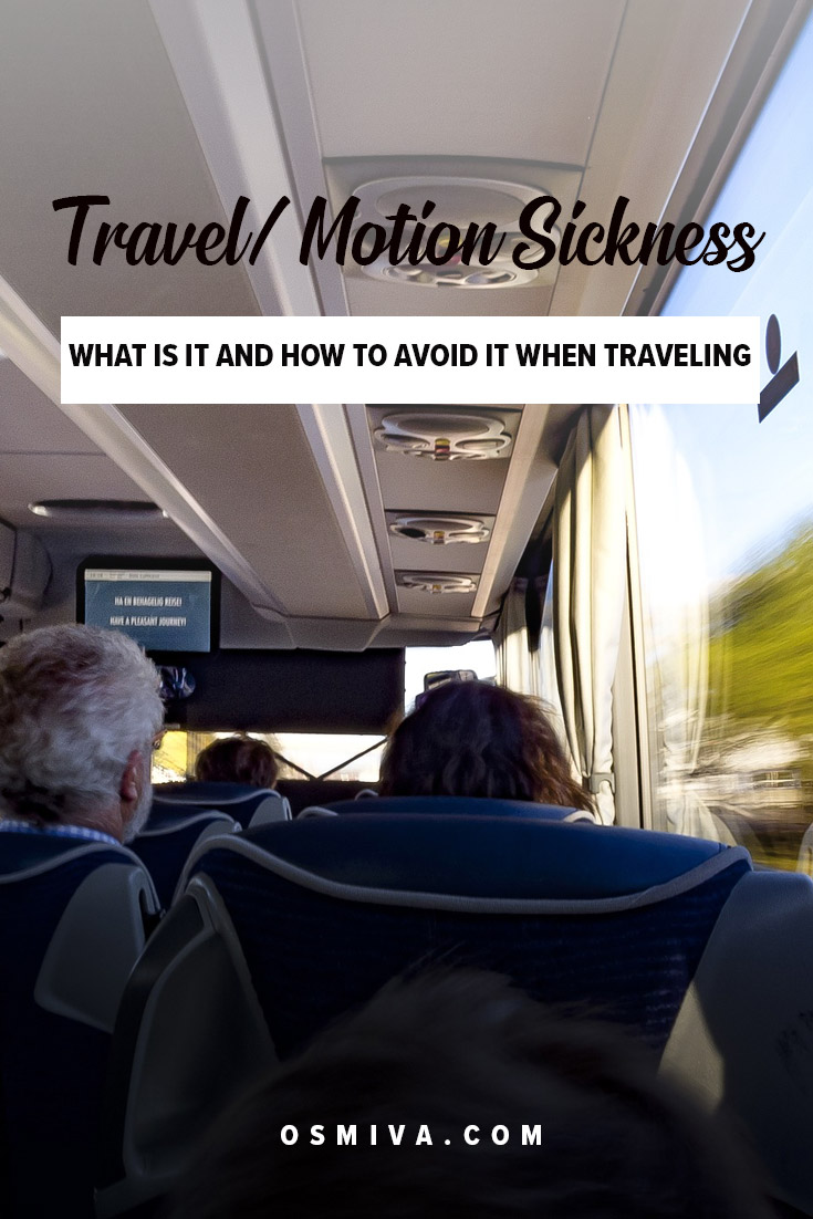 Tips on how to avoid travel sickness when traveling. Includes symptoms of motion sickness and what causes it. The tips will make your trip more fun and memorable! #travelsickness #traveltips #motionsickness #avoidtravelsickness #avoidmotionsickness