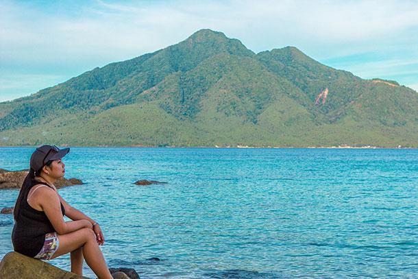 Me at Sambawan Island