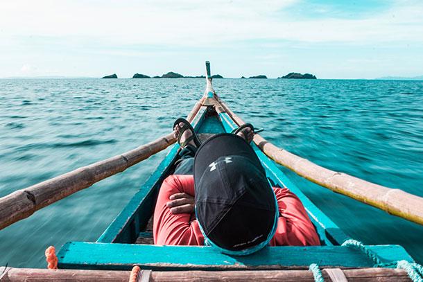 En Route to Sambawan Island
