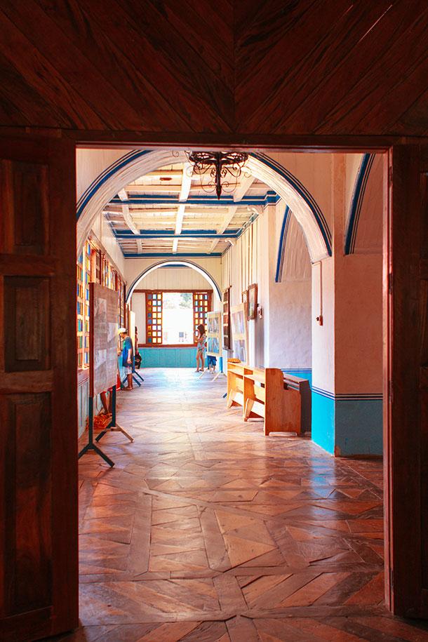 Inside the Lazi Convent