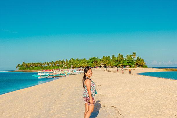 Sandbar at the Kalanggaman Island