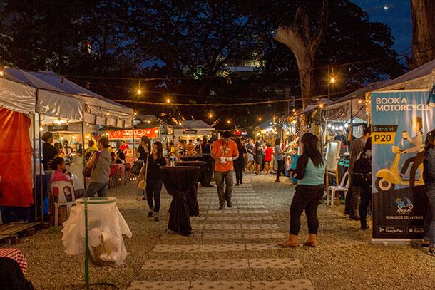 Sugbo Mercado Food Stalls