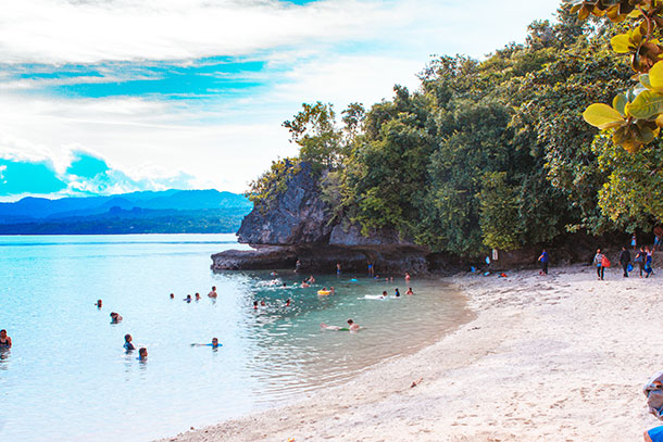 Salagdoong Beach Resort Swimming Area