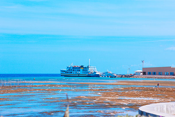 Barge and Boat at the Siquijor Port
