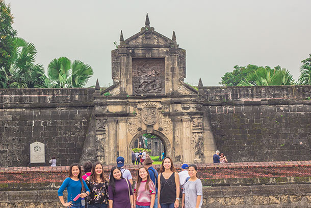 Fort Santiago With Friends