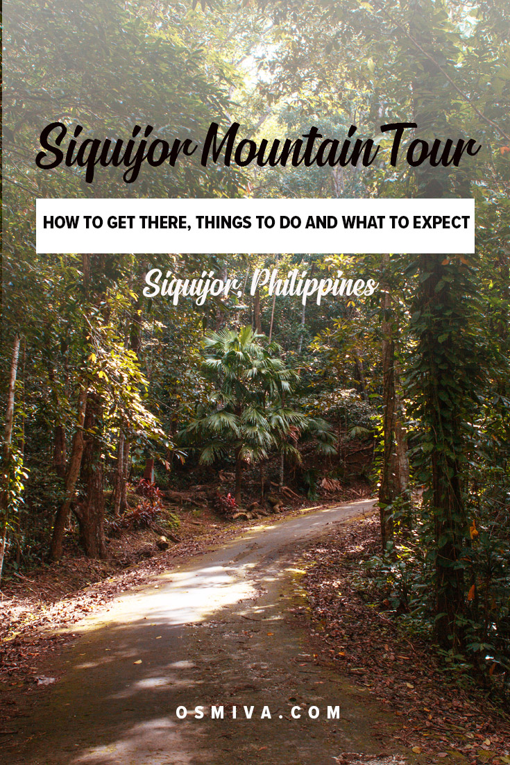 Guide to Siquijor Mountain Tour in the Philippines. Includes things to do during a Siquijor Mountain Tour, what to expect, fees and travel tips to make your experience an enjoyable one. #osmiva #travelguide #travelph #philippines #siquijor #siquijormountaintour #mountaintour #cantaboncave #mountbandilaan