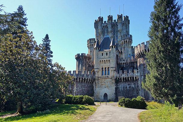 Butrón Castle, Biscay Province, España
