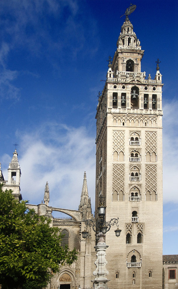 La Giralda or the Giralda of Seville