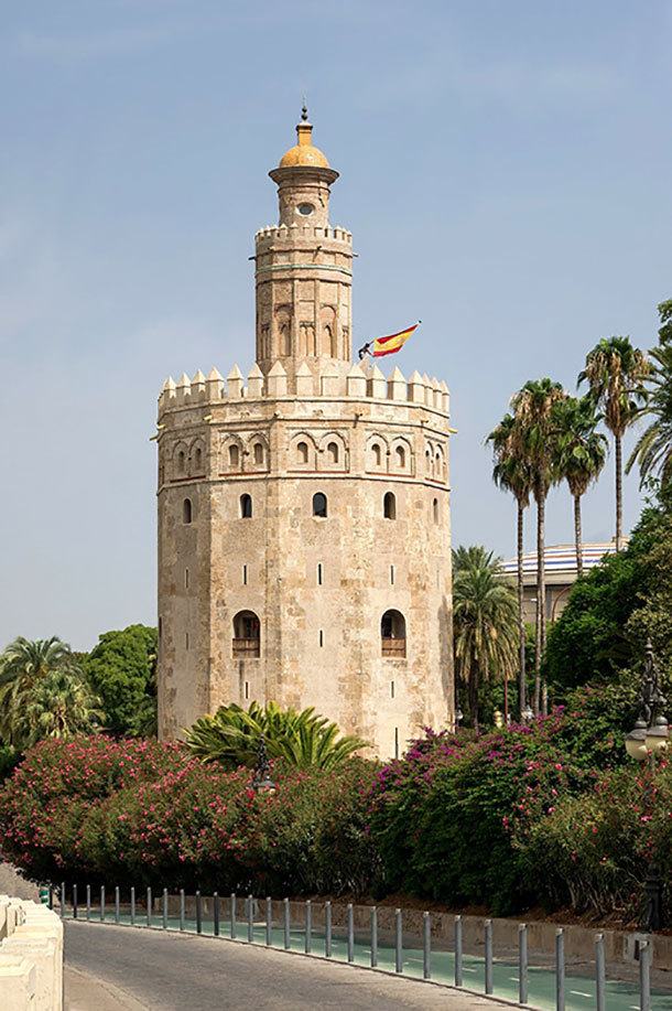 Torre del Oro also known as Golden Tower
