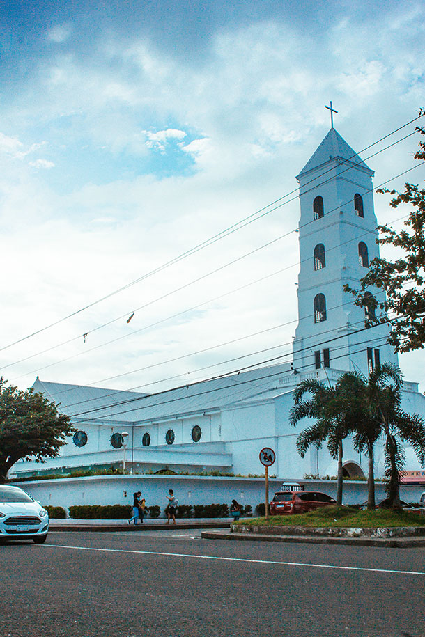 Facade of the Santo Niño de Tacloban