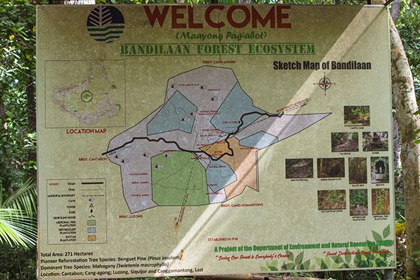 Bandilaan Map