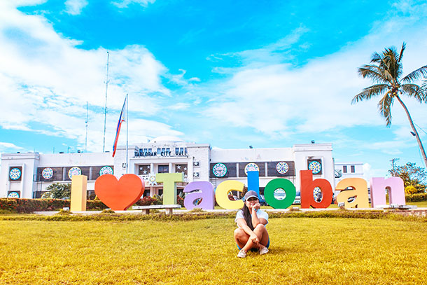 Take a Photo with the 'I Love Tacloban' Sign
