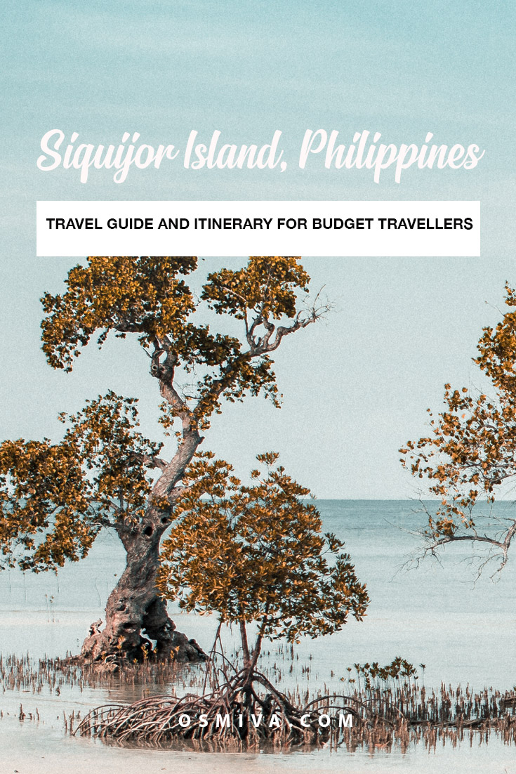 Siquijor Travel Guide Itinerary For Budget Travellers. List of things to do when in Siquijor. Includes list of Siquijor Points of Interest. Siquijor Beaches, Siquijor Itinerary and Cost of Expenses, Group Tours that you can avail, places to stay and where to eat. #siquijor #travelph #philippines #siquijorisland #siquijortravel #siquijortravelguide #siquijoritinerary #osmiva