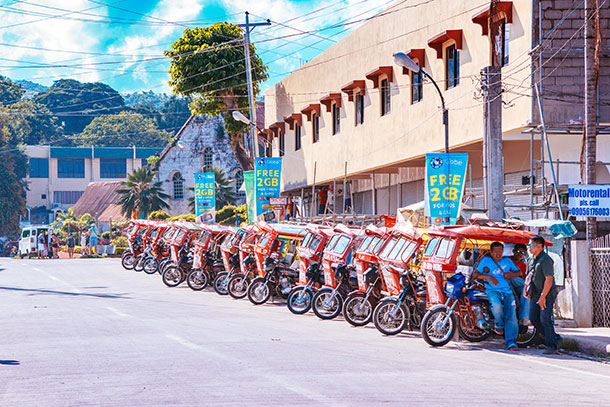 Siquijor Transportation: Motorcycles to take you