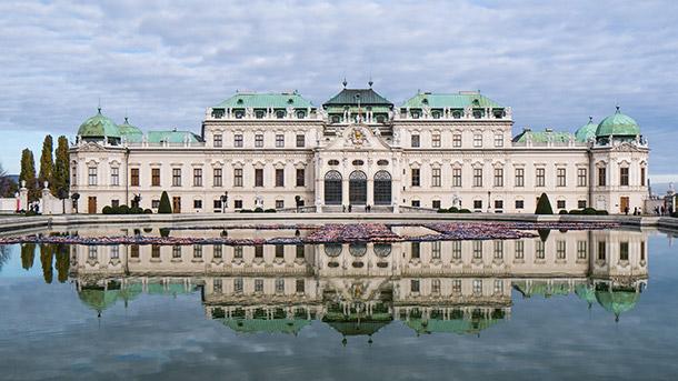 Belvedere Palace Facade