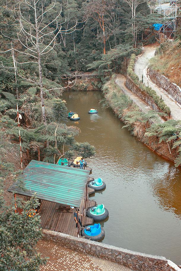 Bumper Boat Area