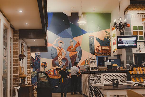 Cucina Higala Mural