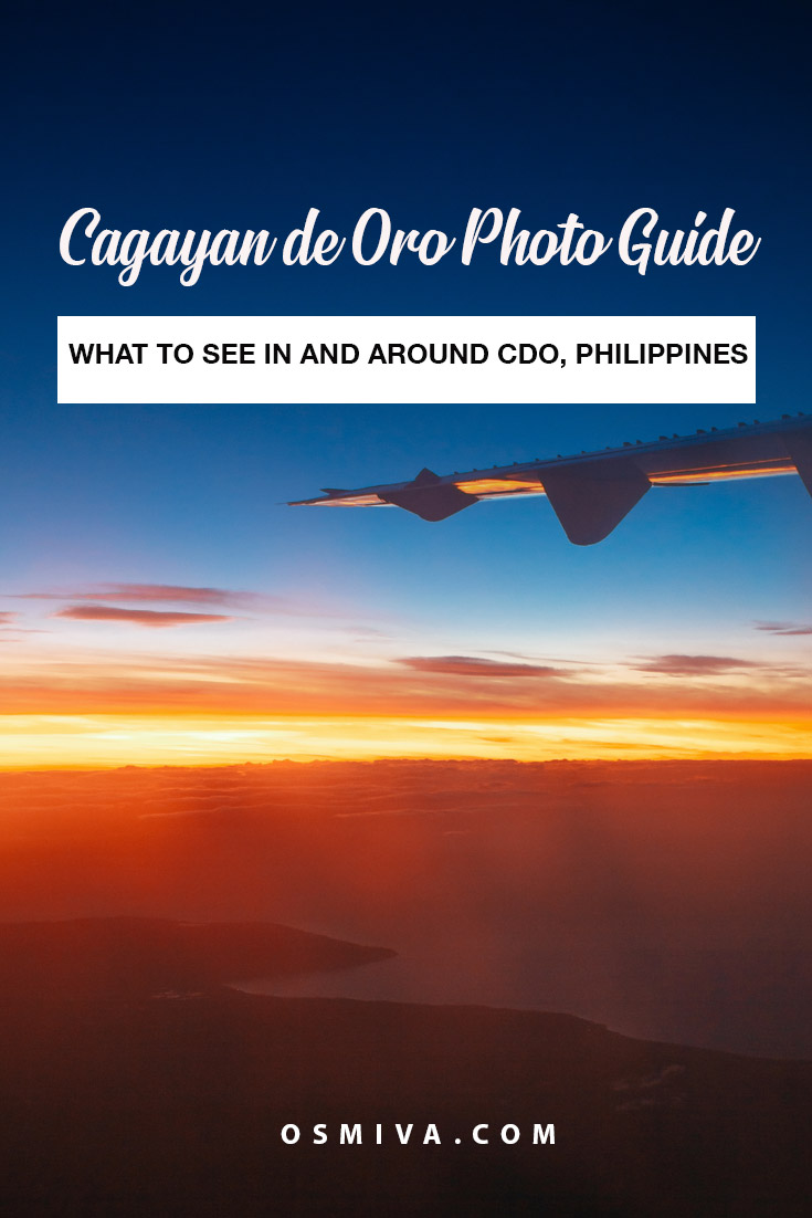 Cagayan De Oro City, Philippines Photo Guide: What to See In and Around CDO. Check out our photo gallery of what makes CDO a must-visit city in Mindanao! Includes sites to see in Iligan City (famous for its waterfalls) and Bukidnon! #photoguide #photogallery #travelphotography #placestoseeinCDO #CDOphotos #whattoseeinCDO #philippines #asia #osmiva