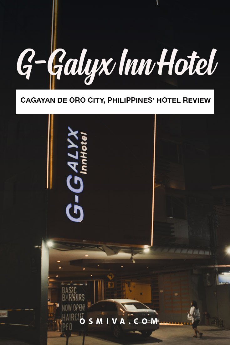 Cagayan de Oro Hotels: Our Stay at the G-Galyx Inn Hotel. Hotel review for a hotel in CDO. Include prices, and what to expect. #budgethotel #ggalyxinnhotel #cdohotel #hotelincdo #travelaccommodation #philippines