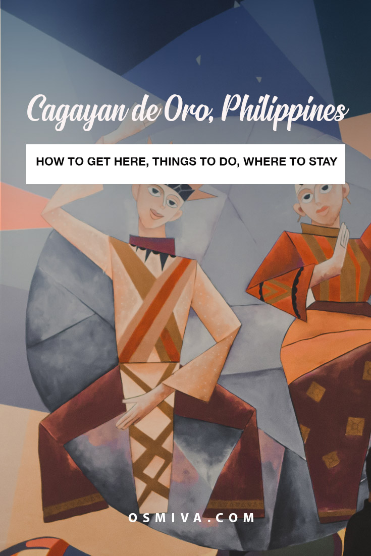 Enjoyable Things to Do in Cagayan de Oro, Philippines. Places to visit when you go to Cagayan de Oro, Philippines. Plus tips on how to get here, mode of transportation and places to stay. #cdo #cagayandeorophilippines #philippines #asia #thingstodoincdo #thingstodocagayandeoro #travelguide #cdotravel #cdotravelguide #osmiva