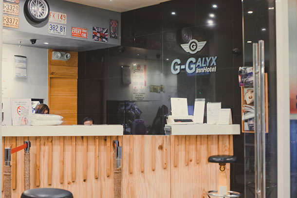 G-Galyx Inn Hotel Reception Area