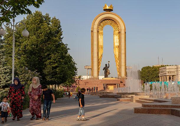 Ismail Somoni Monument
