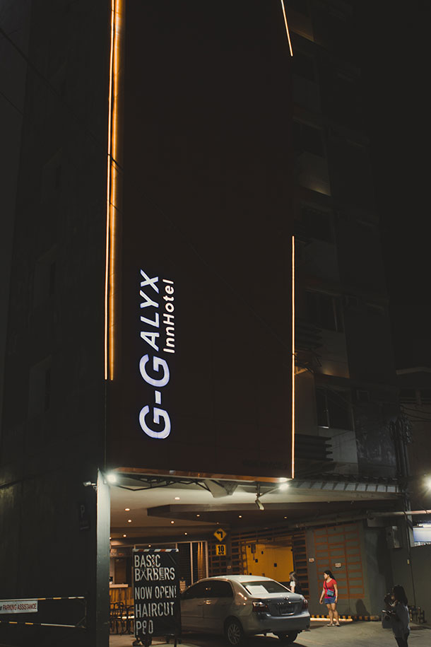 G-Galyx Inn Hotel at Night