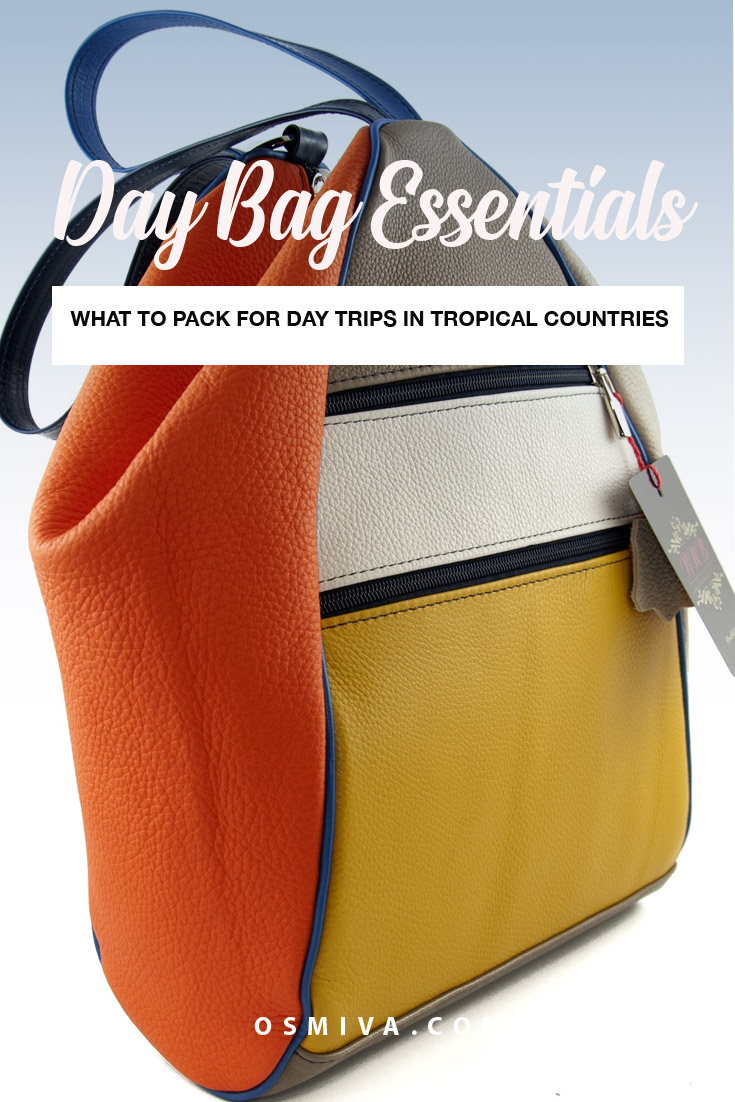 Leather Bag for Day Trips