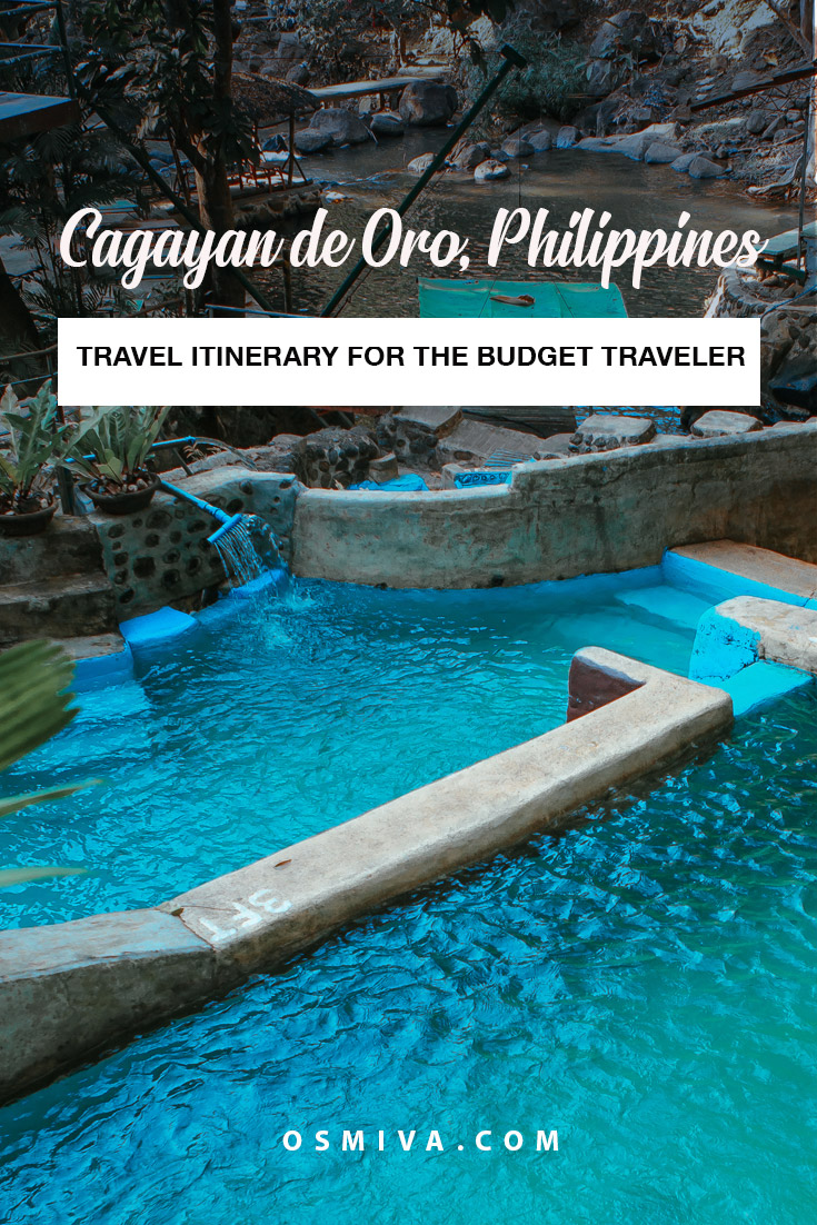 Exciting 5 Days CDO Itinerary for the Budget Traveler. Cool itinerary for a trip to the City of Golden Friendship. Includes a CDO budget guide on how to visit the city and its surrounding areas affordably. #cdo #cagayandeoro #philippines #mindanao #cdoitinerary #cdobudgettravel #travelph
