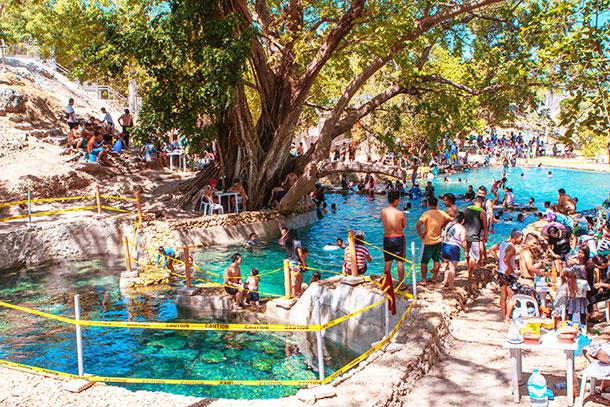 View of the Banyan Spring Resort