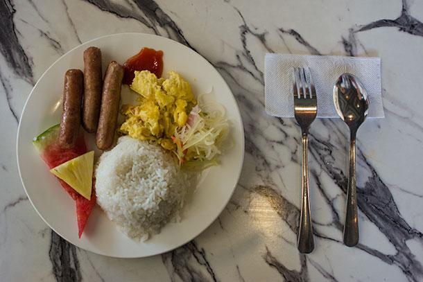 Breakfast at Budgetel