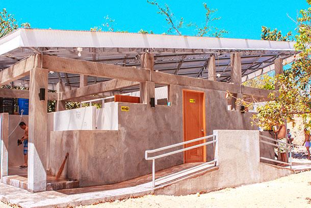Shower Rooms at the Banyan Spring Resort