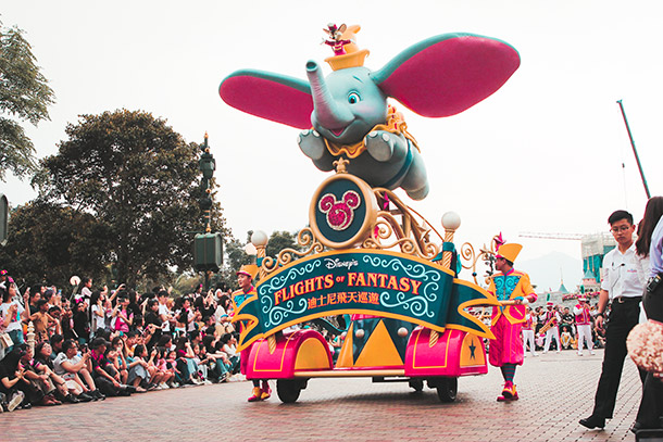 Flights of Fantasy Float