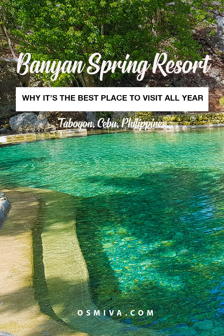 Banyan Spring Resort (formerly known as Guiwanon Cold Spring) in Tabogon is a great place to relax with families and friends when visiting Northern Cebu in the Philippines. Here's a quick guide on why this is a great place to visit all year round! #philippines #tabogoncebu #tabogon #guiwanoncoldspring #banyanspringresort #travelph #cebudaytrips